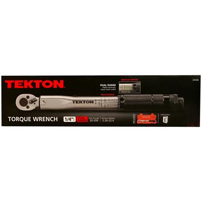 Tekton Torque Wrench